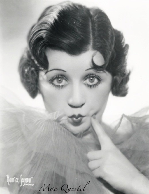 "Mae Questrel- 355 Film & TV Credits, 49 Soundtrack Credits: Her first role was in ""Silly Scandals"" 1931 as Betty Boop. Last role was in ""Christmas Vacation"" 1989. Mae was born on 9/13/1908, died 1/4/1998. She was also known as the voice of Olive Oil in the Popeye cartoons."