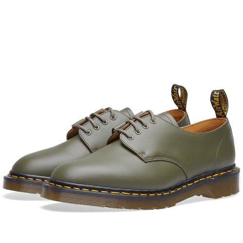 Dr. Martens x Engineered Garments Ghillie Shoe (Khaki)