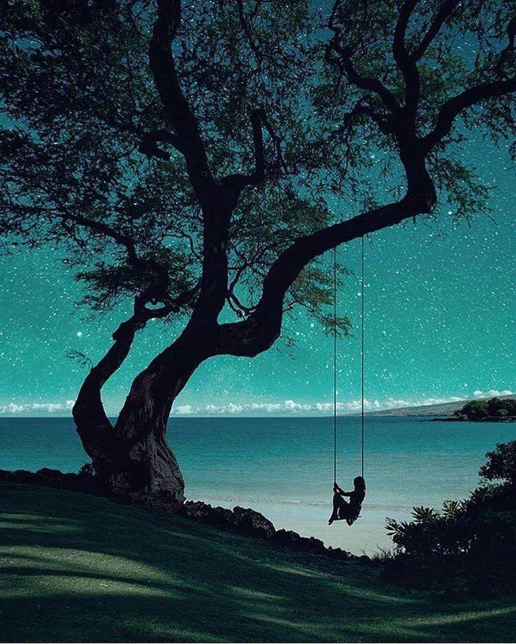 A peaceful swing among the Stars ...