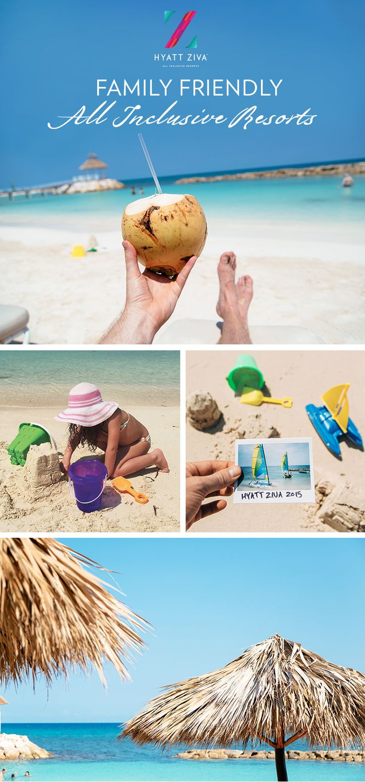 Find something for everyone in the family when you stay at Hyatt Ziva All Inclusive Resorts in Mexico and the Caribbean.