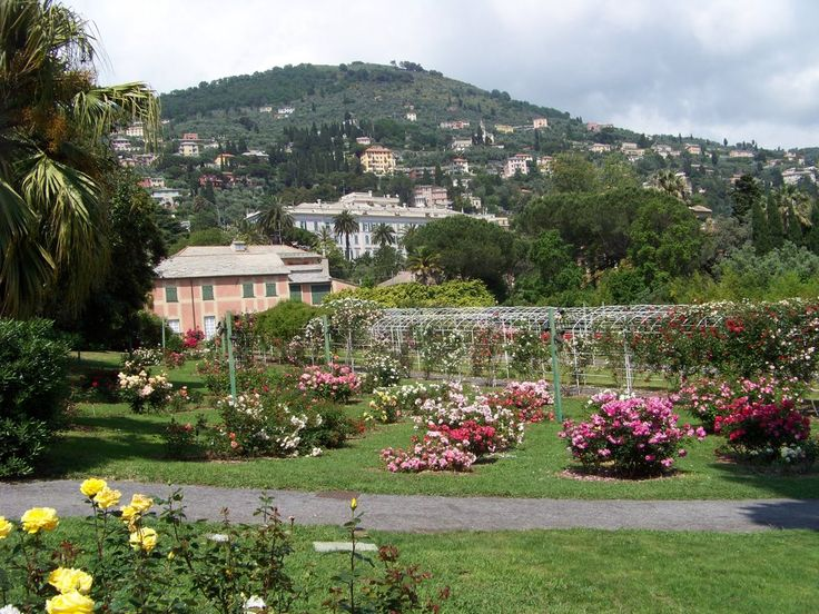 Italian Botanical Heritage » Roseto di Nervi