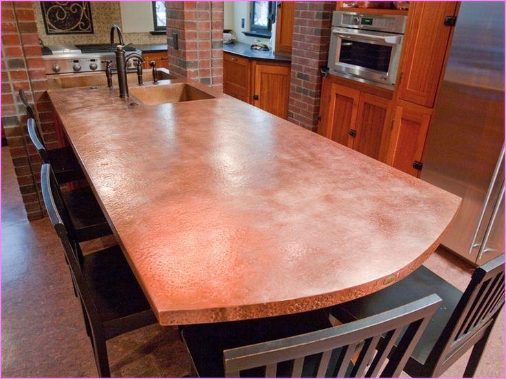 Copper Countertops Kitchen Copper Counter Tops
