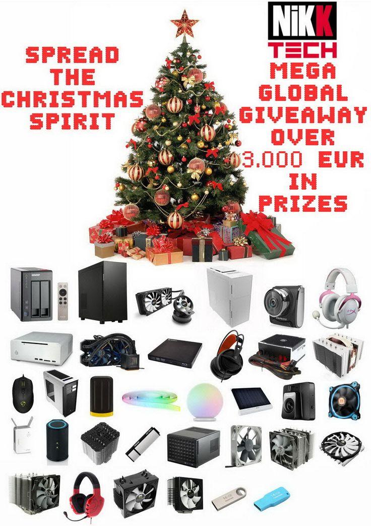 Spread The Christmas Spirit Mega Global Giveaway
