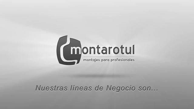 Con una imagen actual y diseño moderno, queremos presentar el video corporativo creado para la empresa MONTAROTUL. En este vídeo, realizado para el home de la web www.montarotul.es (diseñada y programada también por Global Brand), se pueden ver las líneas de negocio del cliente y sus principales valores.