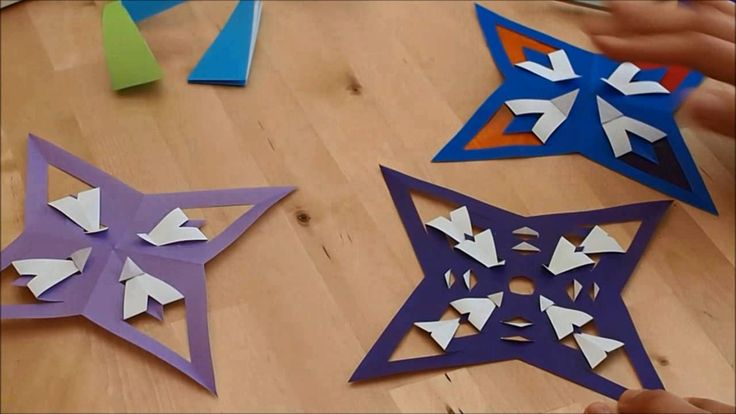How to make an Origami Star Part 3- More complicated Folds on Vimeo