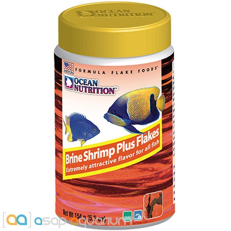 Ocean Nutrition Brine Shrimp Plus Flakes 154 grams (5.5 oz) Fish Food