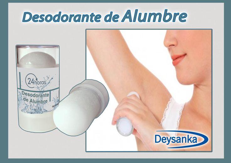 #desodorante de #alumbre #Deysanka sin aluminio y sin parabenos mantén tu piel sana #EvalénBeauty