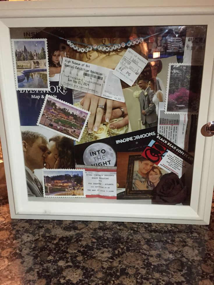 A Shadow Box That I Made For A Good Friend Of Mine And Her
