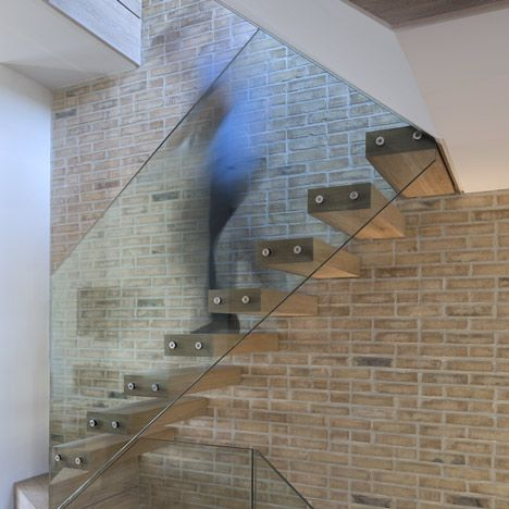 london loft apartments - beautiful staircase