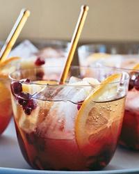 Thanksgiving Cocktail- sparkling pomegranate