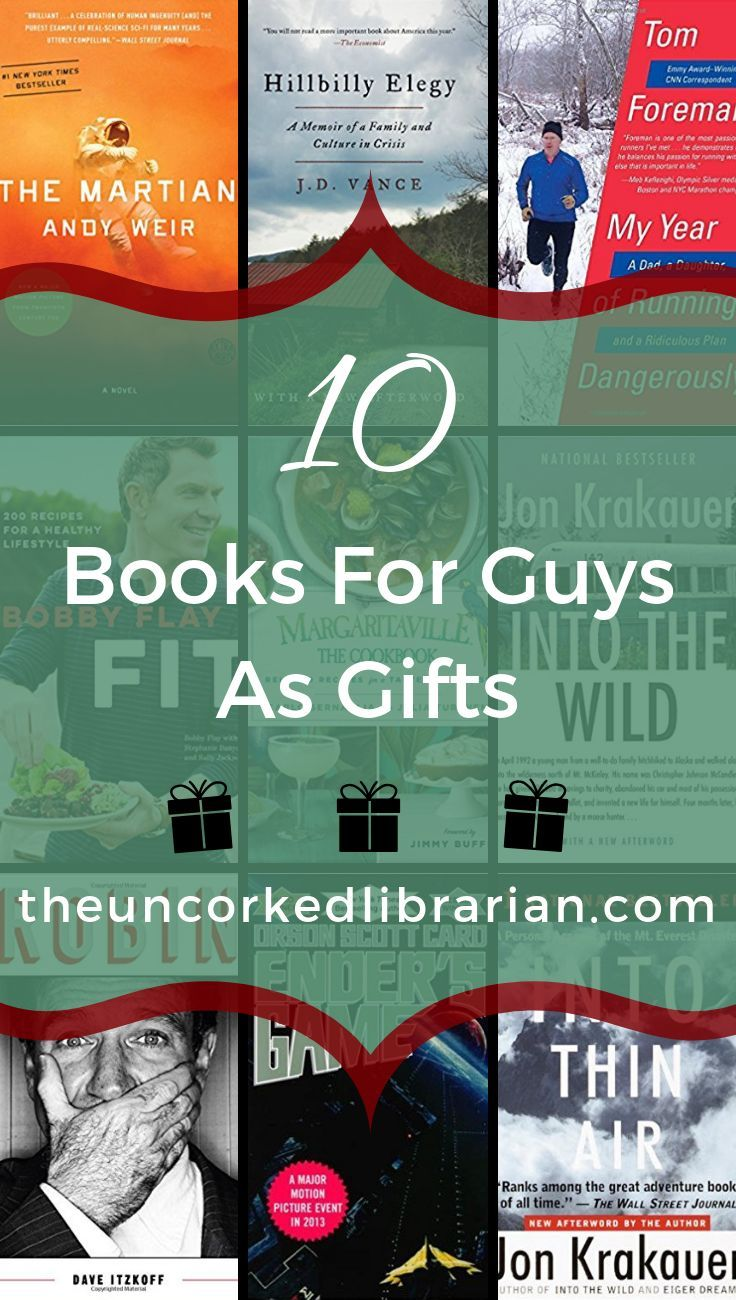 Are You Looking For Books For Guys As Gift Ideas Check Out This Book List Of 10 Fiction And Nonfiction Books For Me Best Books For Men Nonfiction Books Books