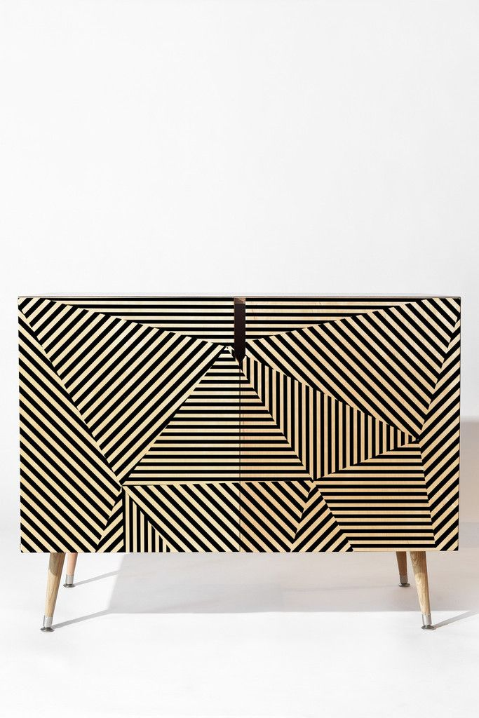 Three Of The Possessed Dazzle Apartment Credenza | DENY Designs Home Accessories