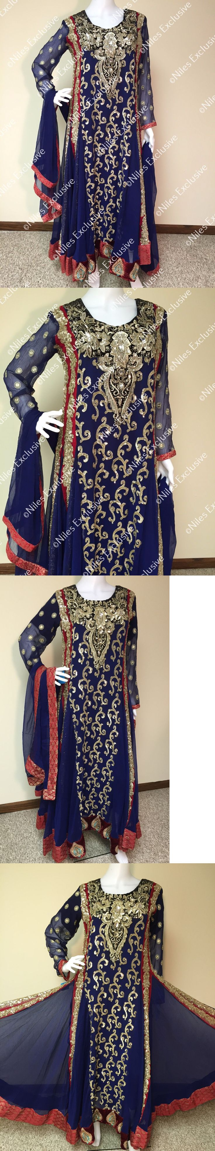 Salwar Kameez 155249: Indian Pakistani Salwar Kameez Anarkali Suit Designer Party Wear S,M, Xl -> BUY IT NOW ONLY: $148.49 on eBay!