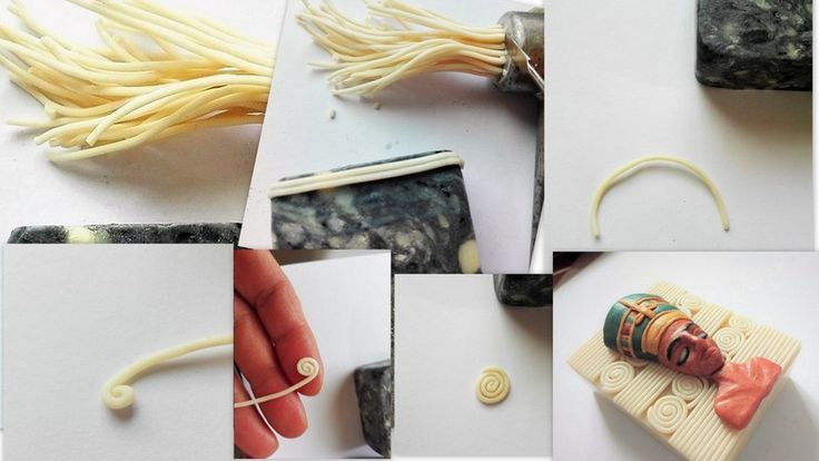 Nefertiti - background production process
