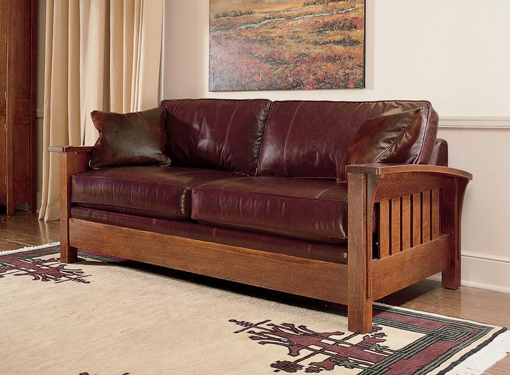60 best Craftsman Style Sofas images on Pinterest