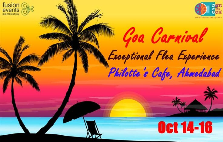 Keep waiting #Amdavadis. Goa Carnival is coming soon.... https://www.facebook.com/fusionevents08/