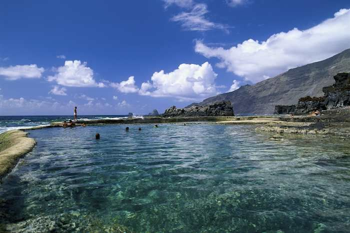 Natural #swimming pools, popular with visitors and locals alike #ElHierro