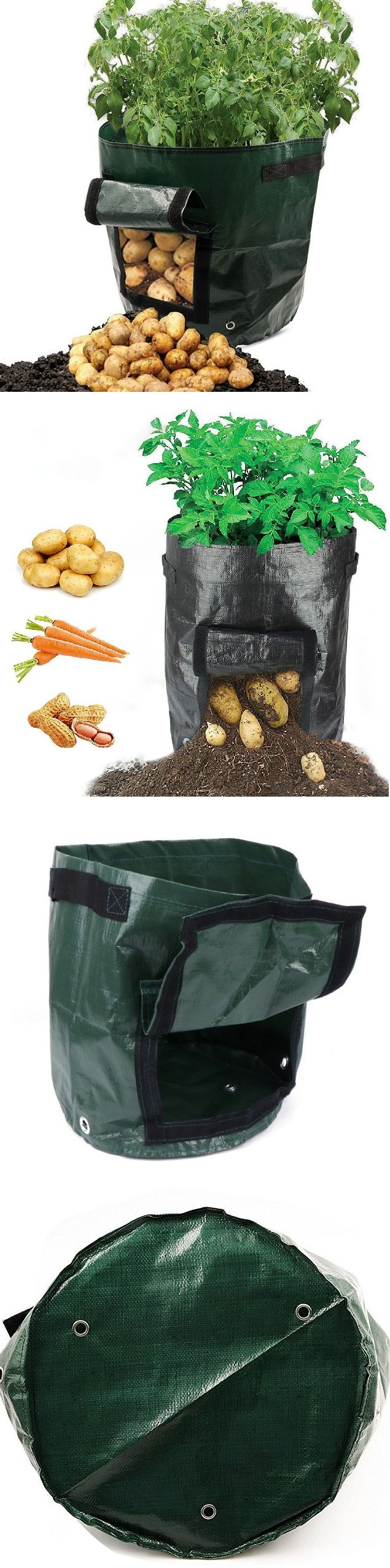 50L Large Capacity Potato Grow Planter PE Container Bag