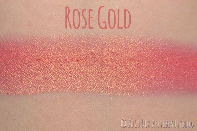 """Sleek Makeup """"Rose Gold"""" blush Swatch"""