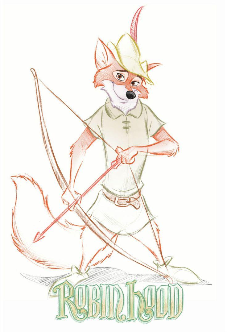 Robin Hood by Pedro Astudillo