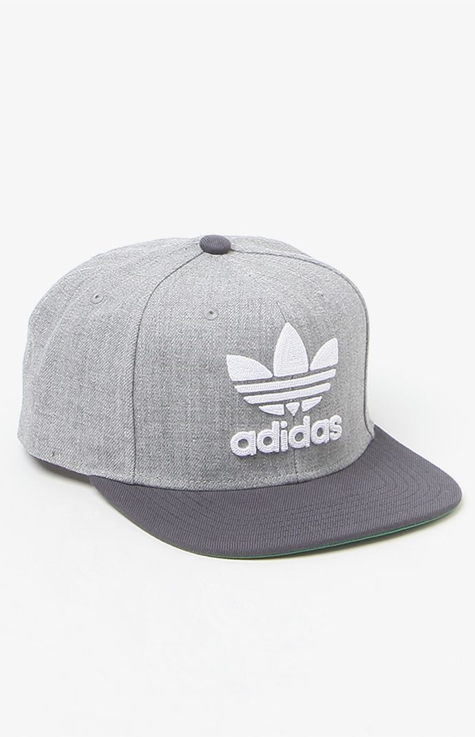 Thrasher Chain Heather Grey Snapback Hat Best Snapback Hats Free shipping: http://www.sosocool.us.com