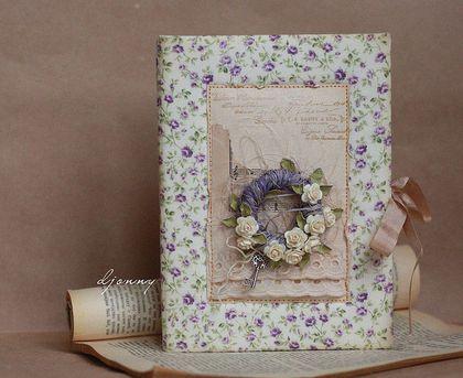 "Книга пожеланий "" Provence"" - книга пожеланий,свадебная книга,гостевая книга"