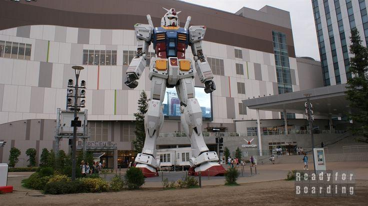 Robot Gundam przy Diver City, wyspa Odaiba, Tokio. Japonia z #readyforboarding #japan #tokyo #Gundam #odaiba