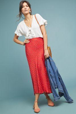 868cb15efa Florence Bias Midi Skirt in 2019 | desireables. | Fashion, Midi ...