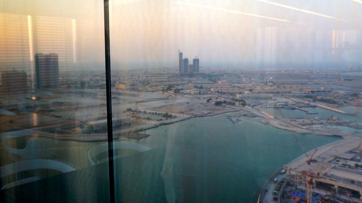 BEAUTIFULL ABU DHABI PANORAMA. SANTA MARIA, OPENING DOORS FOR FUTURE!