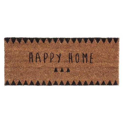 Felpudo Happy Home 25 x 55 cm CLAIRE. Maisonsdumonde.