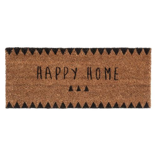 Felpudo Happy Home 25 x 55 cm CLAIRE. Maisonsdumonde.