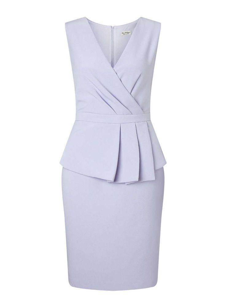 Сиреневое Платье С Баской - Просмотреть Все Продажи И Предложения - Мисс Селфридж