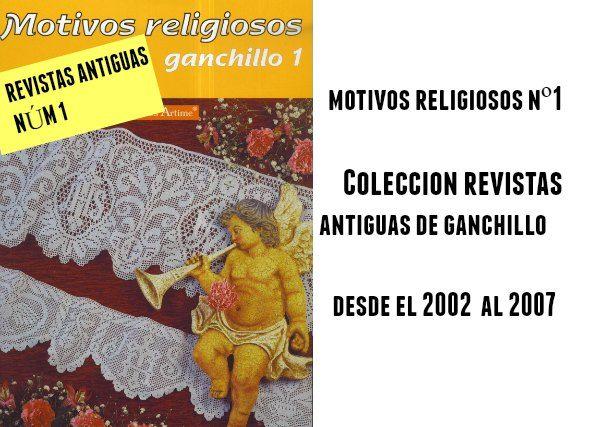 Motivos de ganchillo religiosos núm 1. Revistas de ganchillo
