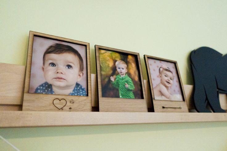Houten polaroid foto kader