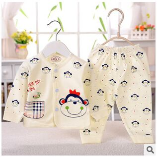 Free shipping Spring and autumn Babys boy and girl Sleepwear Cotton Children's Clothes Baby Sets Underwear kids pajama