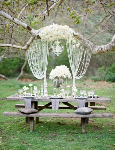 romantic dinner decor