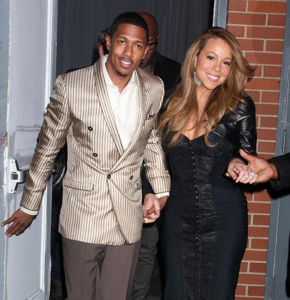 Nick Cannon - Nick Cannon And Mariah Carey Out In New York