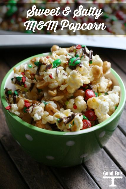 The perfect mix of sweet and salty popcorn