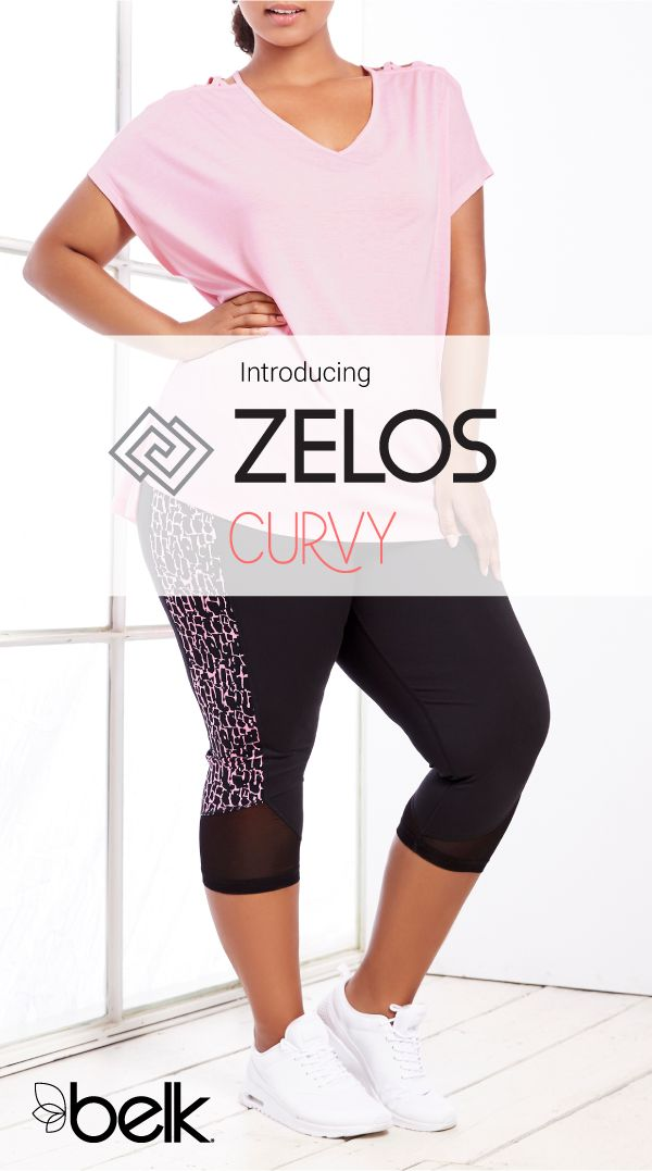 Introducing Zelos Our Exclusive Brand Designed To Fit Your Active Life Available In Curvy Sizes Look Good At The Gym Whil Belk Outfits Clothes Plus Clothing
