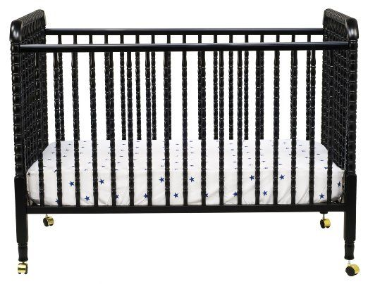 Amazon.com: DaVinci Jenny Lind 3-in-1 Convertible Crib. Black is kinda intriguing, but it also comes in white.