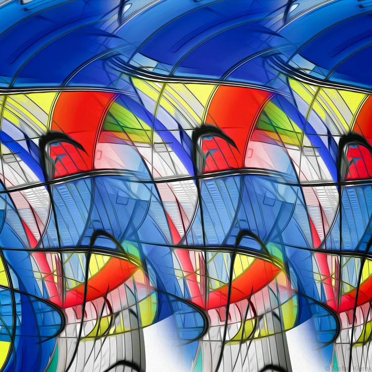 A colorful abstract work!!!