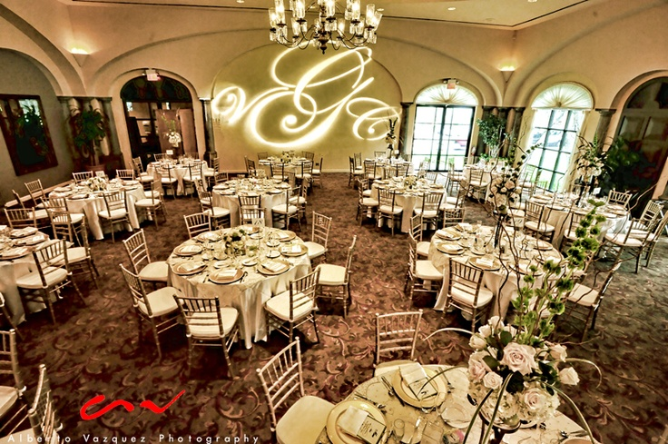 Ballroom Wedding at The Club At Sonterra, decor by Events by Reese, photo by Alberto Vazquez Photography