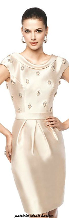 Pronovias 2015 women fashion outfit clothing style apparel @roressclothes closet ideas