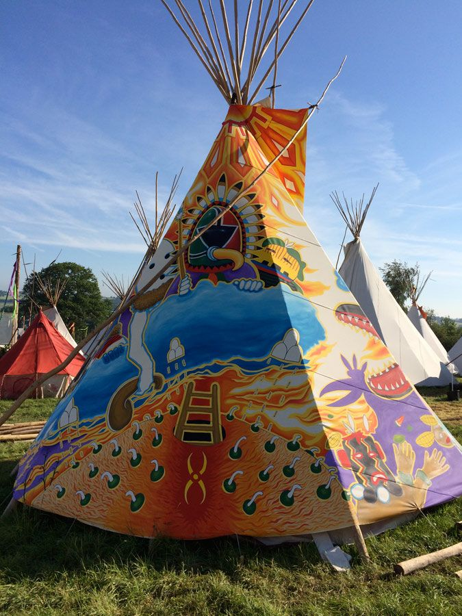 Tipi Style Tents Uk & 12 Man Tent - Tipi (Teepee) Preview