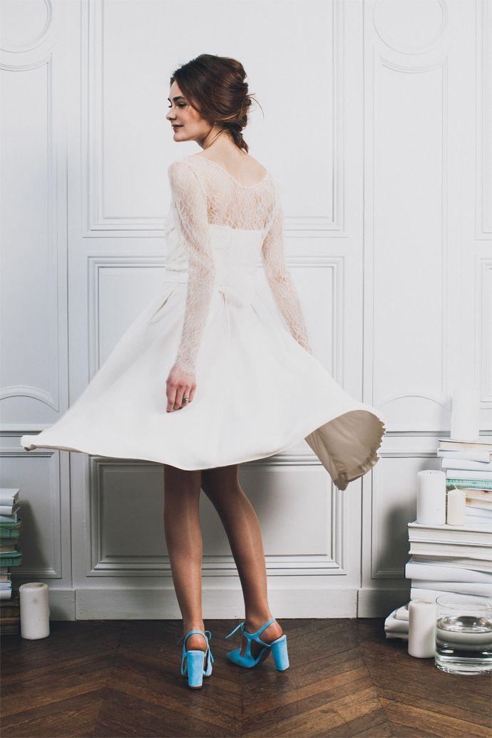 Carnets de mariage - Créatrice de robes de mariée | Ensemble numéro 8 |  Crédits: