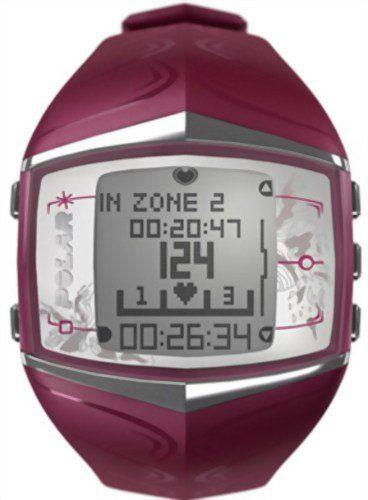 Polar FT60 Women's Heart Rate Monitor Watch (Purple)