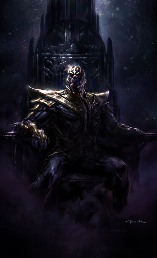 Insane collection of Avengers concept art shows Thanos in action http://stevemillerinsuranceagency.blogspot.com/