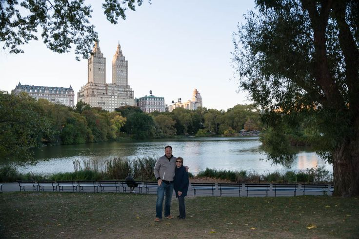 My Mom and I in Central Park 2013