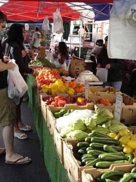 Santa Monica Farmer's Market Arizona Ave. and 3rd St. Santa Monica, CA 90401 Wednesday and Saturday mornings