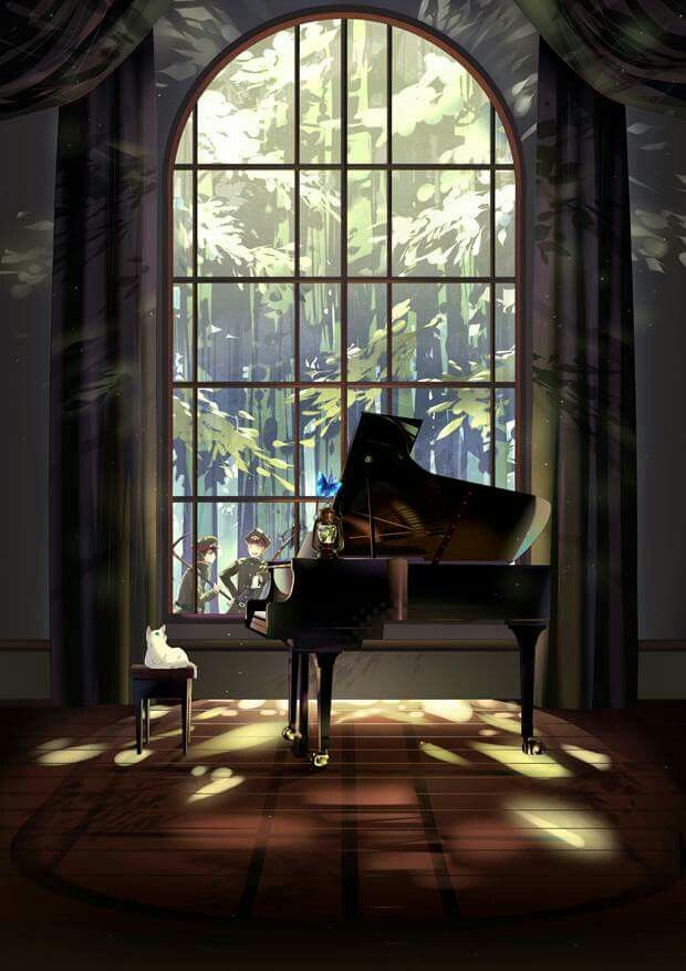 Music in the silent~